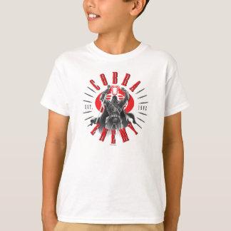 Cobra Commander Biker Badge T-Shirt