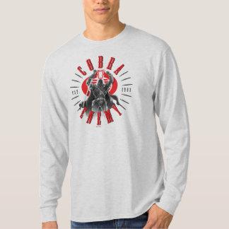 Cobra Commander Biker Badge T Shirts