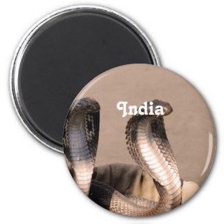 Cobra de la India Imán De Frigorifico