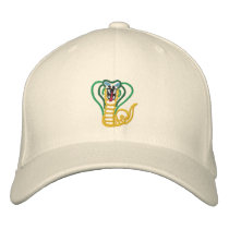Cobra Embroidered Baseball Hat