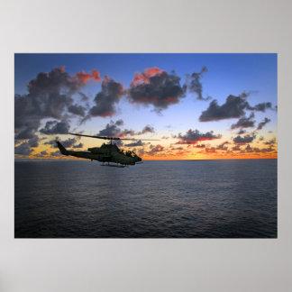 Cobra estupenda AH-1 Impresiones