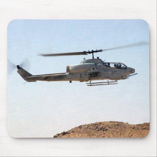 Cobra estupenda de AH-1W Alfombrilla De Raton