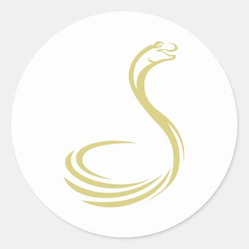 Cobra Etiqueta Redonda
