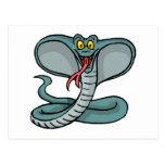 Cobra feliz postales