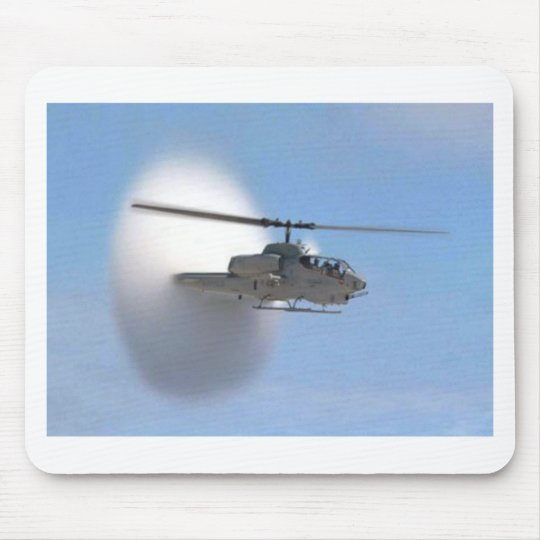 cobra helicopter mouse pad