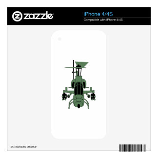 Cobra Helicopter Skins For iPhone 4S