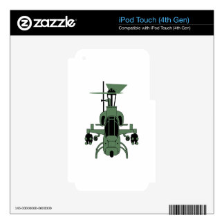 Cobra Helicopter Skins For iPod Touch 4G