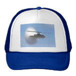 cobra helicopter trucker hat