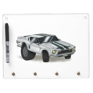 Cobra Key Holder Dry Erase Board With Keychain Holder