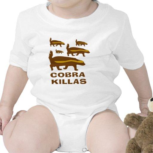 Cobra Killas del tejón de miel Trajes De Bebé