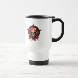 Cobra - llevada para gobernar, destinado taza de viaje de acero inoxidable