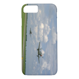 Cobra P63 And P39, Taking Off_WWII Planes iPhone 8/7 Case