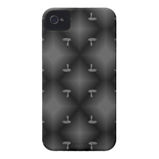 COBRA PATTERNED BLK.WHT. iPhone 4 COVER
