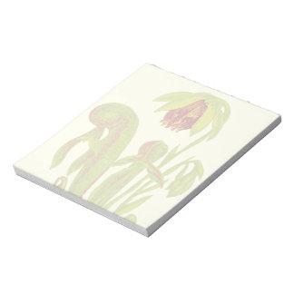 Cobra Pitcher Plant Botanical Art Note Pad