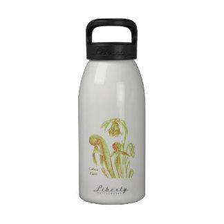 Cobra Plant Botanical Art Water Bottles