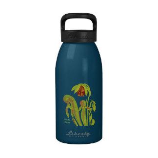 Cobra Plant Floral Art Water Bottles