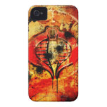 Cobra Poster iPhone 4 Covers