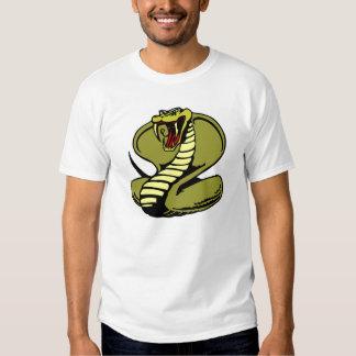 Cobra real blanca remeras