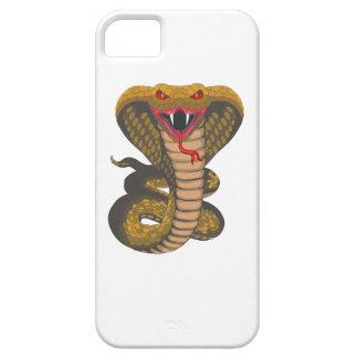 Cobra real iPhone 5 carcasas