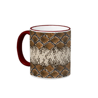 Cobra Skin Coffee Mugs