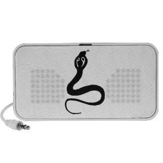 Cobra Snake Notebook Speaker