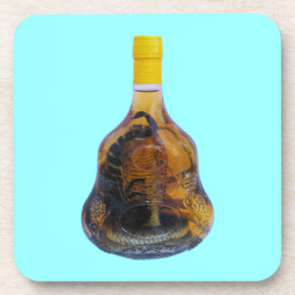 Cobra Snake Vs Scorpion Whiskey ... Yadong Lao Coaster