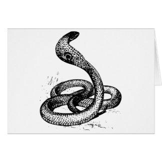 Cobra Tarjeta De Felicitación