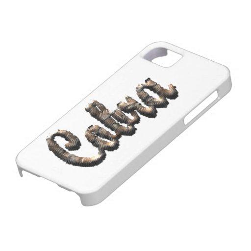 Cobra - texto tridimensional de la piel de iPhone 5 Case-Mate funda