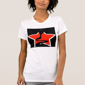 Cobra with Red Star Tank Top