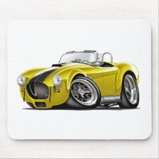 Cobra Yellow-Black Car Mouse Pad