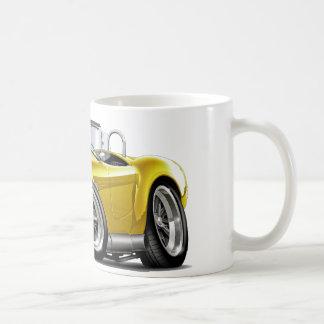 Cobra Yellow-White Car Coffee Mug