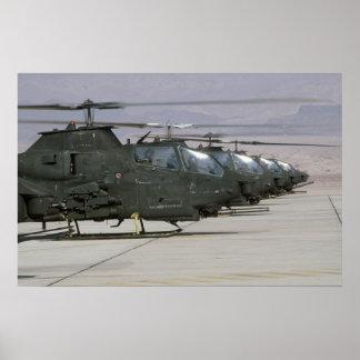 Cobras AH-1 Póster