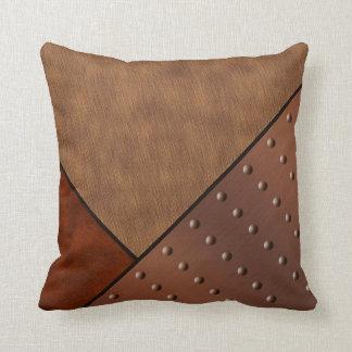 Cobre de cobre del remache del pelo del caballo de almohadas