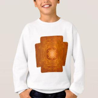 Cobre de la Atlántida de los artes en la madera Sudadera