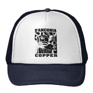 cobre del d'Anconia/logotipo negro Gorras