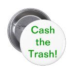 Cobre el botón de la basura pins