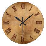 Cobre en el reloj del arte moderno del Pergamino-e