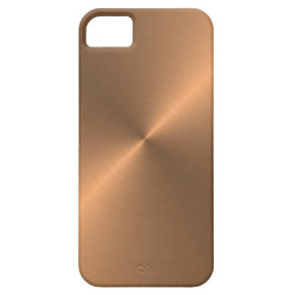 Cobre Funda Para iPhone 5 Barely There