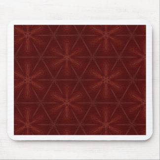Cobre rojo eléctrico mouse pad
