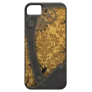 Cobre y oro de Steampunk iPhone 5 Carcasas