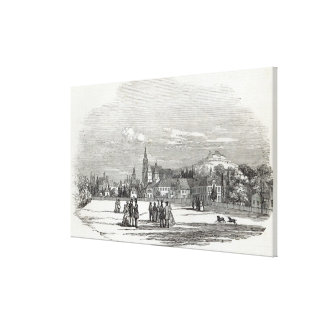 Coburg, engraved by W.J. Linton Canvas Print