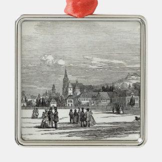 Coburg, engraved by W.J. Linton Metal Ornament