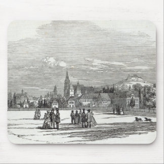 Coburg, engraved by W.J. Linton Mouse Pad