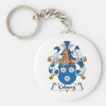 Coburg Family Crest Key Chain