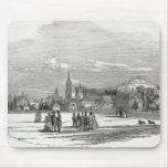 Coburgo, grabado por W.J. Linton Tapetes De Ratón