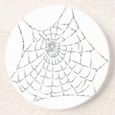 Halloween Themed Cobweb Coaster