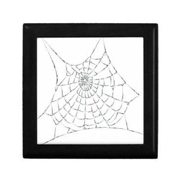 Halloween Themed Cobweb Gift Box