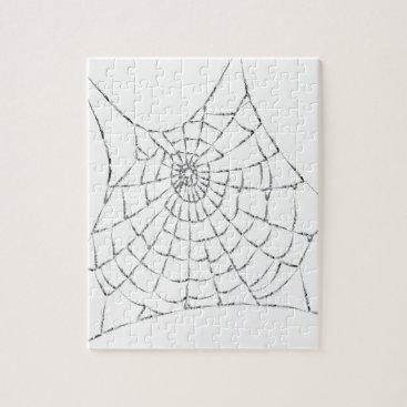 Halloween Themed Cobweb Jigsaw Puzzle