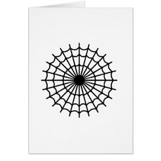 Cobweb spider cards