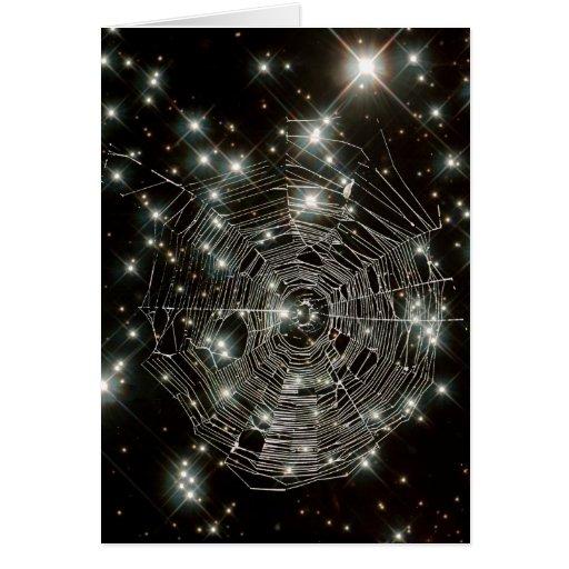 Cobweb Stars Card